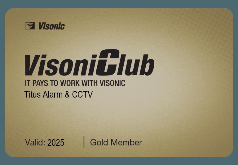gold visonic installer